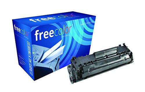 Preisvergleich Produktbild freecolor Q2612A für HP LaserJet 1010, Premium Tonerkartusche, wiederaufbereitet, 2.000 Seiten, 5 Prozent Deckung, BLACK