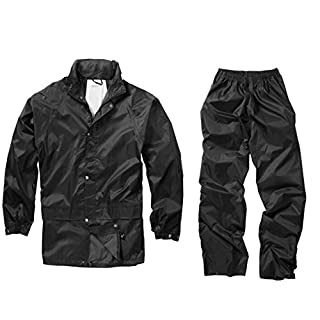 armyandoutdoors Waterproof Suit (S, Black)