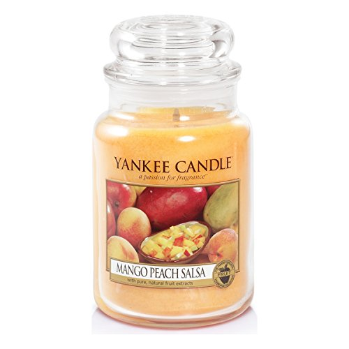 Yankee Candle Large Jar Candle, Mango Peach Salsa