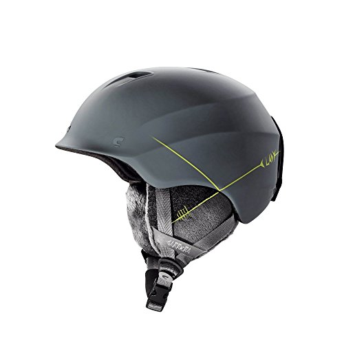 CARRERA Ski- und Snowboard-Helm C-Lady, Farbe:Grau;Umfanggrößen:51-54 cm (Damen Snowboard Helm)