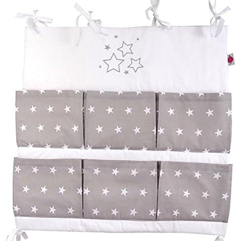 Organizador para habitación de bebé (bordado, apto para pared), varios colores