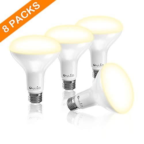 Lampadina led e27, oxyled attacco e27 lampadine, confezione da vite led lampadine per casa, led 3000 k,luce chiaro 65w lampadine di ricambio lampade a risparmio energetico, luce bianca calda 8 packs