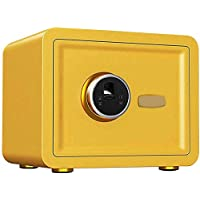 TQMB-A Caja Fuerte con la Huella Digital, el gabinete portátil Inicio/Viajes Pequeño Armario de Seguridad para mesita de Noche, Color Opcional,6