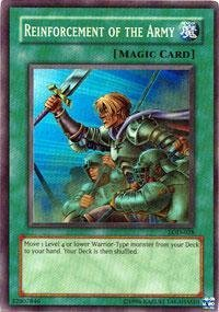 Yu-Gi-Oh! - Reinforcement of the Army (LOD-028) - Legacy of Darkness - 1st Edition - Super Rare by Yu-Gi-Oh!