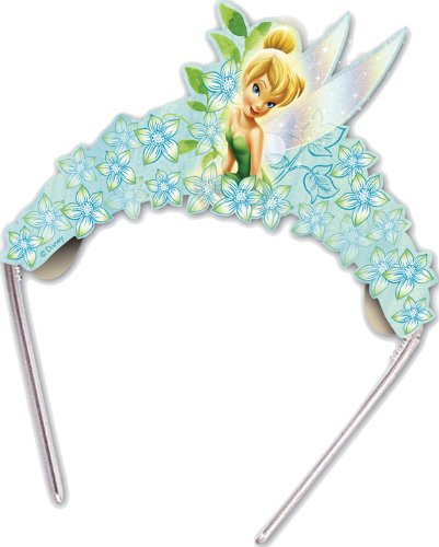 Disney Fairies Tinkerbell Glitzerkronen 6 St�ck