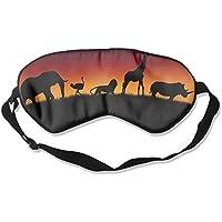 Comfortable Sleep Eyes Masks Wild Animals African Pattern Sleeping Mask For Travelling, Night Noon Nap, Mediation... preisvergleich bei billige-tabletten.eu