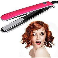 Fer à FriserBigoudis de Salon Bigoudis Lisseur Réglable Lisseur Température pour tous les types de cheveux