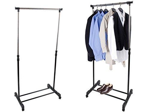 Garderobenständer mit Rollen Kleiderständer Ständer Kleiderbügel #629