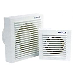 Havells Ventilair 100mm Exhaust Fan with Window (White)