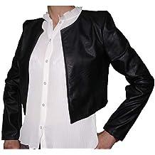 size 40 df84d ff174 giacca pelle donna - Fantasy - Amazon.it