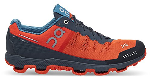 On Running Scarpe Chiuse Uomo, Multicolore (Flame/Shadow), 40.5