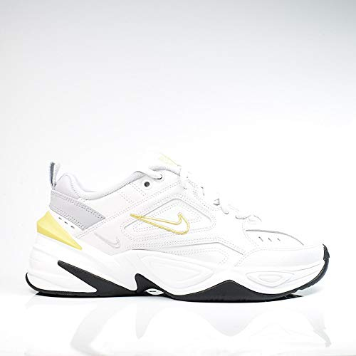 Nike Damen W M2k Tekno Leichtathletikschuhe, Mehrfarbig (Platinum Tint/Celery/Wolf Grey 009), 40 EU