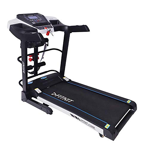 Fitkit FT200M Series (4.5 HP Peak) Motorized Treadmill withFree Dietitian,Personal Trainer, Doctor Consultation and Installation Services