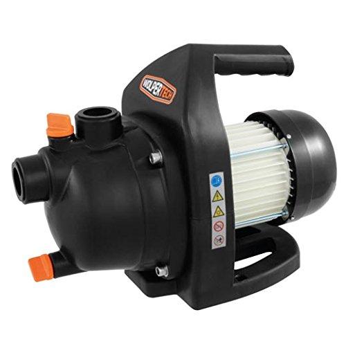 Wolpertech Gartenpumpe 600 Watt 2800 l/h WT-GP 600 K schlagfester Kunststoff Entlüftungs- und Entwässerungsschraube