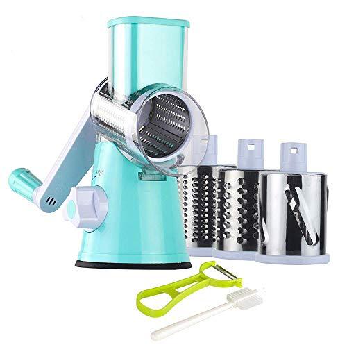 Rallador de queso rotatorio - Molinillo redondo Trituradora Trituradora -...