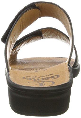 Ganter - Sonnica-e, Pantofole Donna Schwarz (Schwarz/Multi)