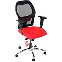 ahrend 160tipo rojo silla con Base de aluminio