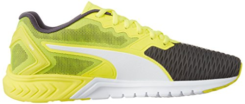 Puma Ignite Dual, Running Mixte Adulte Safety Yellow/Asphalt