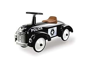 retro roller 0706116 laufauto speedster police spielzeug. Black Bedroom Furniture Sets. Home Design Ideas