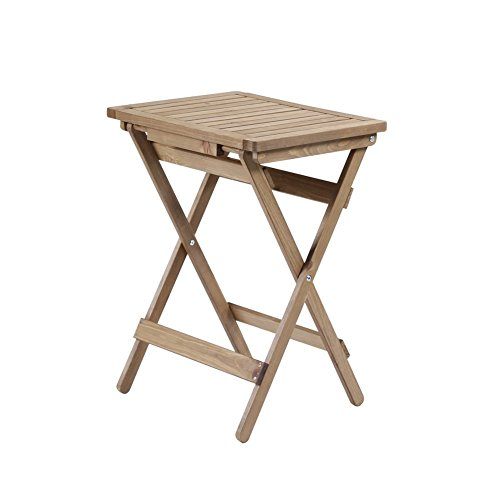 Flower Racks LUYIASI- Retro-massivholz Esstisch Und Stühle Kombination Von Esstisch Esstisch Alte Bar Tisch Schreibtisch Beiläufig Tabelle (41,5x36,5x61,5 cm)