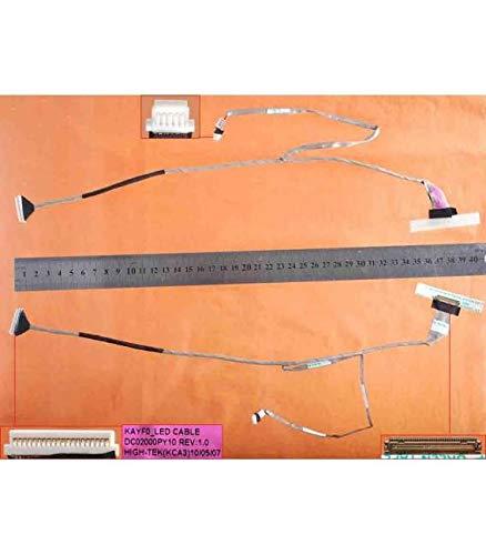 Portatilmovil - Laptop-Flexkabel für Acer Gateway NV73 NV74 NV78 NV79 17,3 Zoll DC02000PY10 DC02000PY50