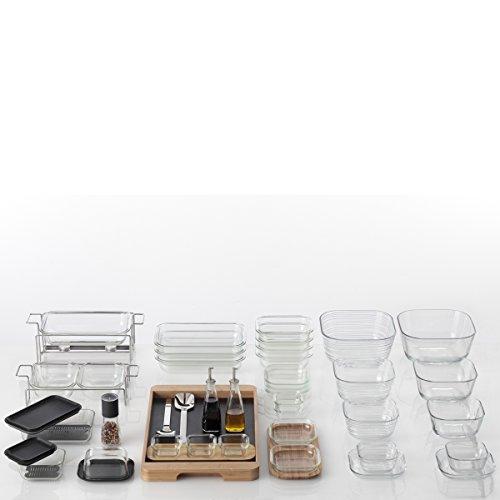 Leonardo 014739 Set 6 Glas Schale Struttura Gusto, 12 cm - 3