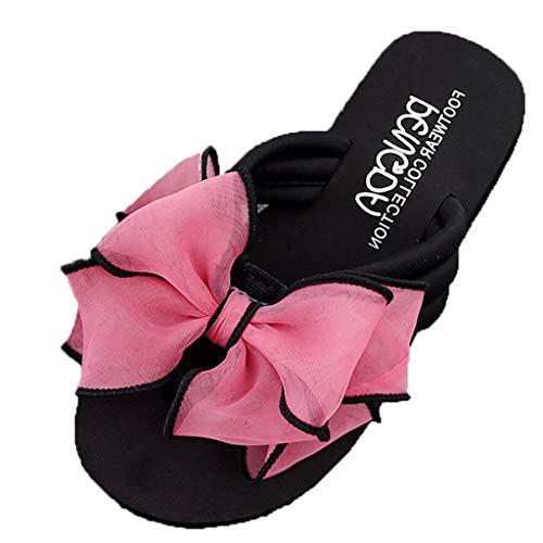 Pantofola Donna Elegante, LANSKRLSP Sandali Ciabatte Elegante da Donna Fondo Spesso Sandali Scarpe...