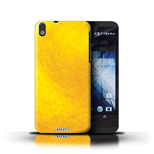 Kobalt® Imprimé Etui / Coque pour HTC Desire 816 / Melon d'eau conception / Série Fruits Orange / Peau