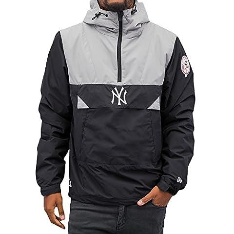 New Era Ne90094Fa16 Mlb Smock Neyyan - Veste-ligne New York Yankees pour Homme, couleur Bleu, taille S