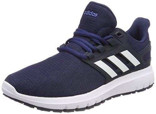 Adidas Energy Cloud 2, Zapatillas de Running para Hombre, Azul (Collegiate Navyfootwear Whitenoble Indigo 0), 46 2/3 EU