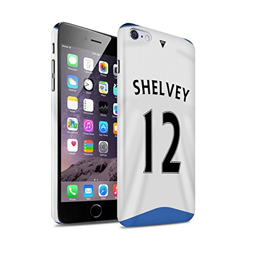 Offiziell Newcastle United FC Hülle / Glanz Snap-On Case für Apple iPhone 6S+/Plus / Pack 29pcs Muster / NUFC Trikot Home 15/16 Kollektion Shelvey