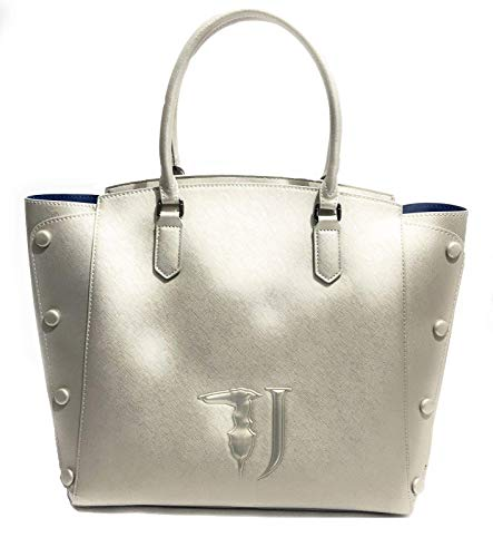 Trussardi Jeans Melissa Shopping Bag Covered Studs...