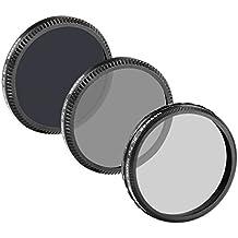 Neewer® für DJI OSMO / Inspire 1 Professionelle Fotografie Filter-Set beinhaltet: (1) Polarisator Filter + (1) ND4 Filter + (1) ND8 Filter aus HD Glass