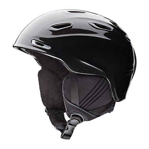 Smith Damen Helm Arrival Skihelm, Metal Black, 51-55 cm Damen-black Metal
