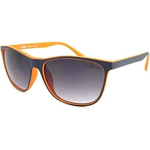 Coast Bloc-Occhiali da sole, lenti gradiente grigio F601, colore: blu opaco
