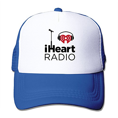 iheartradio-bassball-cap-trucker-hat-with-mesh-caps