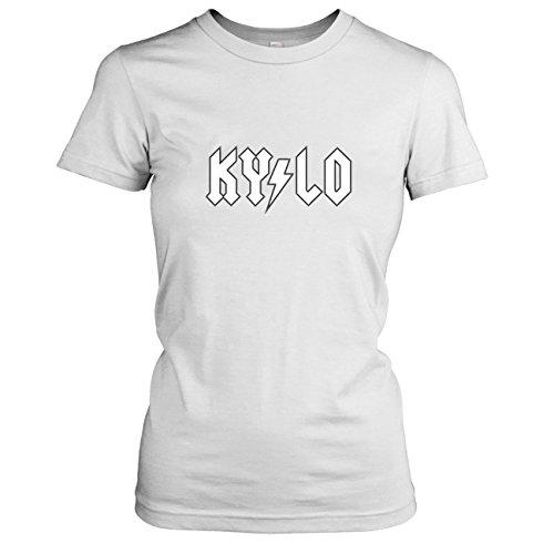 TEXLAB - Kylo Back in Black - Damen T-Shirt Weiß