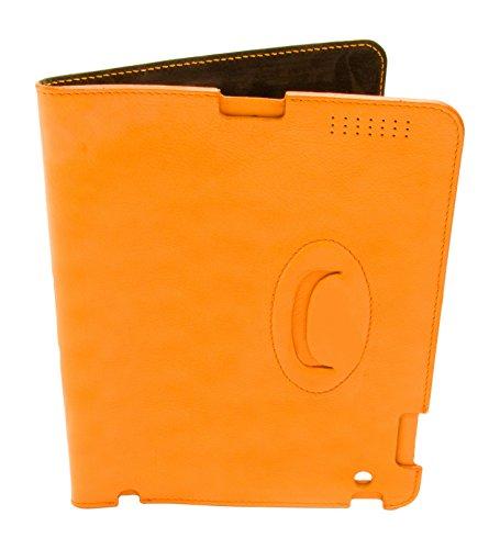 Business Tasche Aus Echtem Leder - Aktentasche-EXTRA: Kostenlose iPad Hülle Camel
