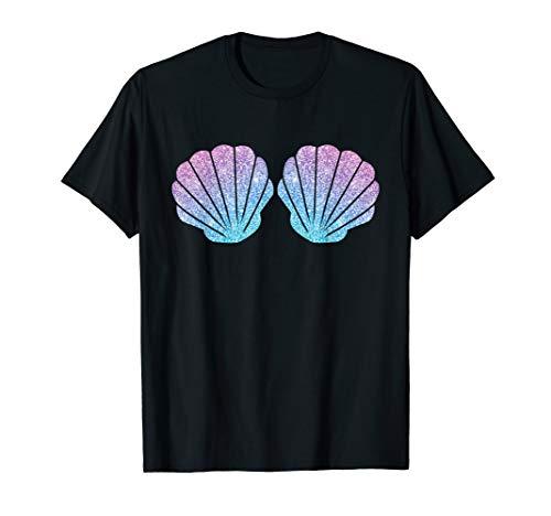 Meerjungfrau I Muschel BH Bikini Kostüm I Schönes Muschel T-Shirt