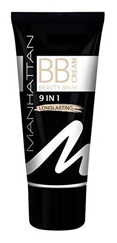 Manhattan Beauty Balm - BB Cream 9 in 1 Longlasting Cream für mittlere bis dunklerer Hauttypen Inhalt: 30ml Beauty Balm