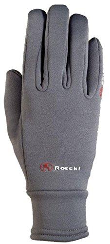 Roeckl Sports Winter Handschuh Warwick Unisex Reithandschuh, Anthrazit, 9,5