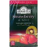 Ahmad Tee 20 Beutel a 2 Gramm Grüner Tee Erdbeeren & Kiwi Geschmack