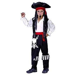 Reír Y Confeti - Ficpir005 - Disfraces para Niños - Capitán Pirata Traje - Boy - Talla L