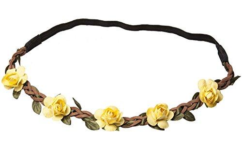 Motif floral Bandeau