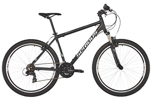 SERIOUS Rockville 27,5\'\' Black/Grey Rahmenhöhe 50cm 2019 MTB Hardtail