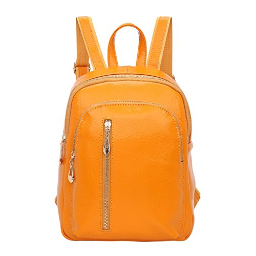 Shijinshi ,  Damen Rucksackhandtaschen gelb
