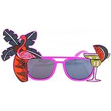 Tinksky Luau partie approvisionnement lunettes de soleil Hawaii thème  photomaton les accessoires (couleur aléatoire) b2b6690f1bac