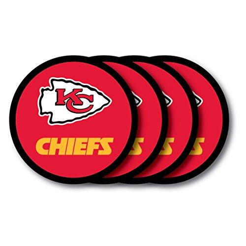 Duck House NFL Kansas City Chiefs Untersetzer (4Pack)