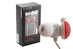 SilverCrest ® écouteurs intra-auriculaires casque/écouteurs avec motif coccinelle
