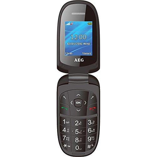 """AEG M1500 - Handy mit 1.8"""" Farbdisplay, Bluetooth und Kamera, schwarz"""
